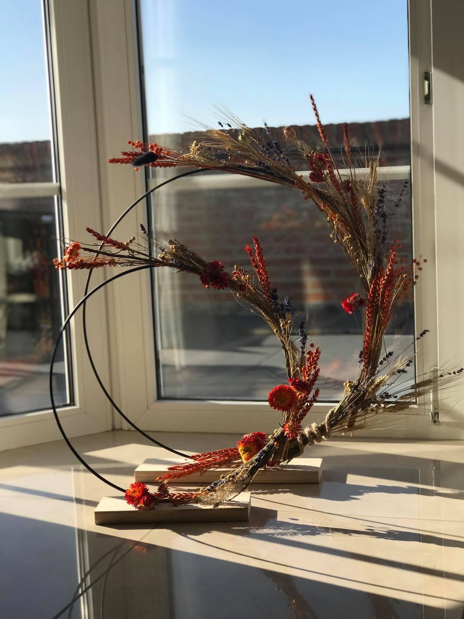 Droogbloemen gemaakt door Ateljee Julie